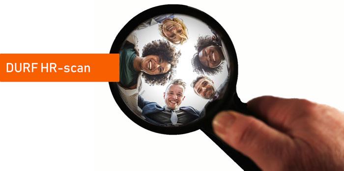 Ontdek waar je staat wat betreft de borging van personeelszaken met de DURF HR-scan, waarbij jouw ambitie het vertrekpunt is.Krijg inzicht en overzicht in wat gaat goed, wat kan beter, met concrete aanbevelingen.